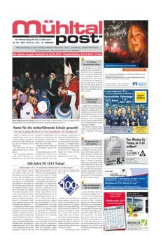 Mühltalpost Januar Ausgabe 2011