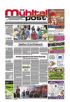 Mühltalpost Januar Ausgabe 2017