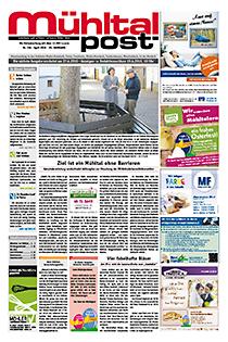Mühltalpost April Ausgabe 2016