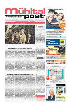 Mühltalpost Mai Ausgabe 2011