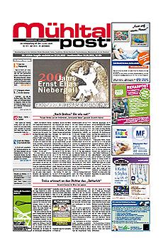 Mühltalpost Mai Ausgabe 2015