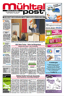 Mühltalpost Mai Ausgabe 2016