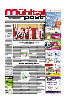 Mühltalpost Mai Ausgabe 2017