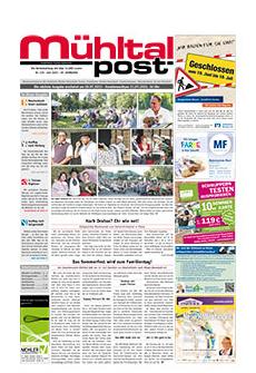 Mühltalpost Juli Ausgabe 2015