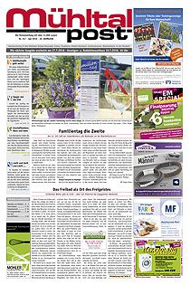 Mühltalpost Juli Ausgabe 2016