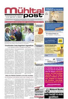 Mühltalpost August Ausgabe 2009