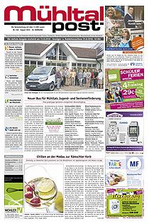 Mühltalpost August Ausgabe 2016