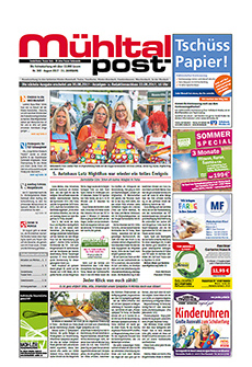 Mühltalpost Juli Ausgabe 2017
