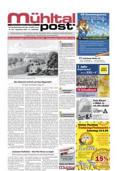 Mühltalpost September Ausgabe 2009