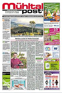 Mühltalpost September Ausgabe 2016