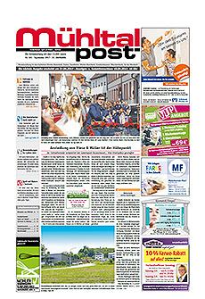 Mühltalpost September Ausgabe 2017