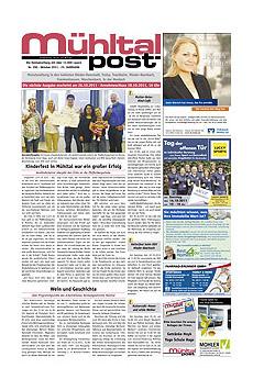 Mühltalpost Oktober Ausgabe 2011