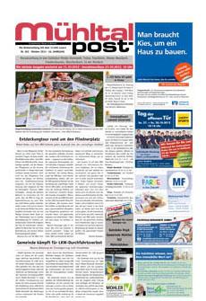 Mühltalpost Oktober Ausgabe 2012