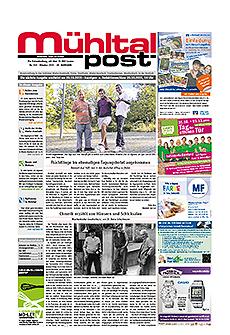 Mühltalpost Oktober Ausgabe 2015