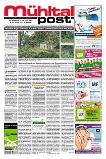 Mühltalpost Oktober Ausgabe 2016
