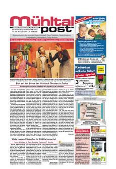 Mühltalpost November Ausgabe 2010