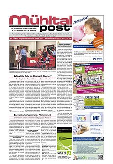 Mühltalpost November Ausgabe 2014