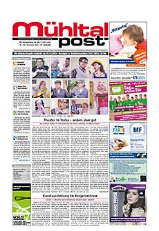 Mühltalpost Februar Ausgabe 2015