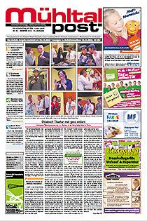 Mühltalpost November Ausgabe 2016