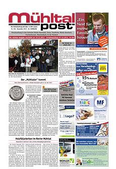 Mühltalpost Dezember Ausgabe 2012