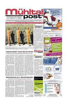 Mühltalpost Januar Ausgabe 2013