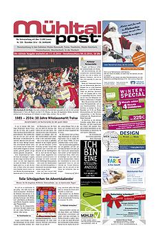 Mühltalpost Dezember Ausgabe 2014