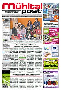 Mühltalpost Dezember Ausgabe 2016