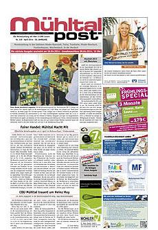 Mühltalpost Mai Ausgabe 2014