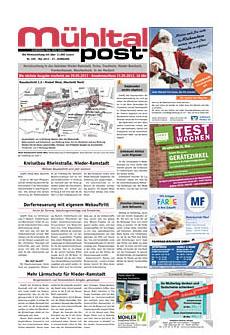 Mühltalpost Mai Ausgabe 2013
