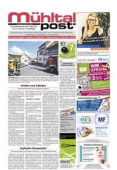 Mühltalpost Juni Ausgabe 2014