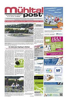 Mühltalpost Juli Ausgabe 2014