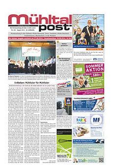 Mühltalpost August Ausgabe 2014