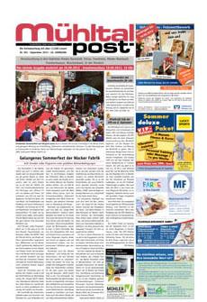 Mühltalpost September Ausgabe 2012