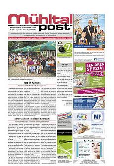 Mühltalpost September Ausgabe 2014