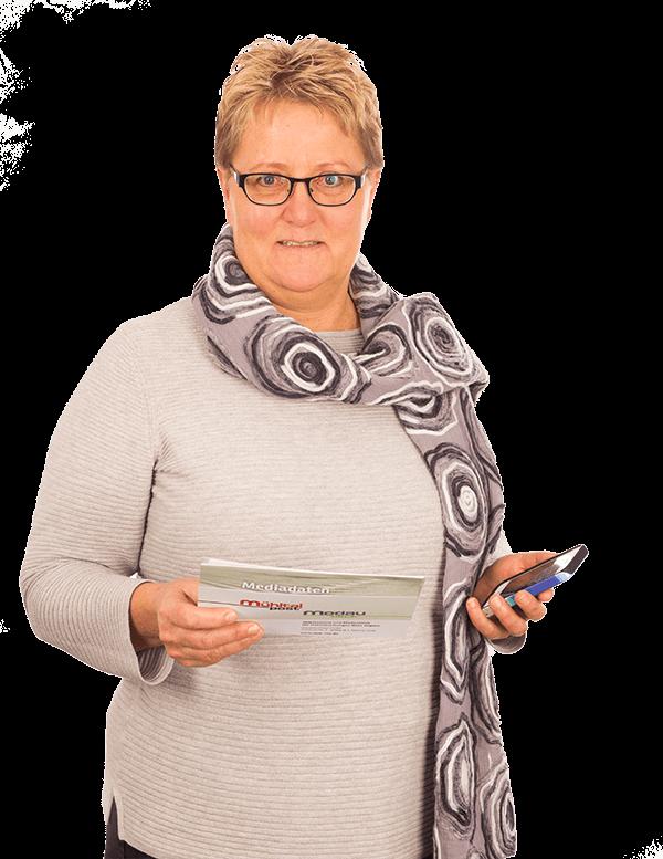 Sabine Drechsler - Anzeigenberaterin - Modaublick, die kostenlose lokale Heimatzeitung